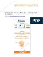 Legislação e Normas Técnicas sobre Vigilância, Controle e Prevenção de Zoonoses – Experiência Brasileira.