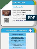 CV Salvador Garrido
