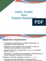 infix, Prefix, Postfix