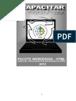 Apostila CODEP - Web Designer-HTML 2012