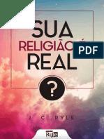 eBook Sua Religiao e Real