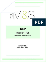 M&S ECP Module 1 - RSL RestrictedSubstanceList v2 1 FINAL Jan 2014