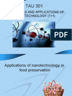 Fundamentals and Applications of Nanotechnology (1+1)