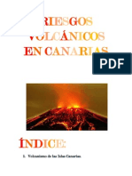RIESGOS VOLCÁNICOS EN CANARIAS