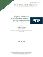 2008 07 Swanstrom Ecological Framework