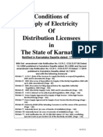 Conditions of Supply of Electricity With I II Amendments