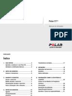 Polar F7 User Manual Portugues