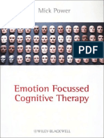 2010 - Emotion Focused Cognitive Therapy - Mick Power
