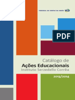 Catalogo Acoes Educacionais