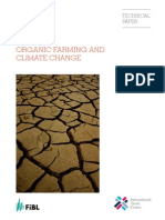 La Agricultura Ecologica y El Cambio Climatico