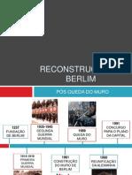 RECONSTRUÇÃO DE BERLIM 1