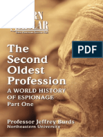 159990934 the Second Oldest Profession a World History of Espionage Part I Jeffrey Burds
