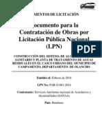 Lic7LPN PAR O 001 2014201 PliegooTerminosdeReferencia