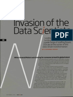 Invasion of the Data Scientists.