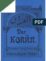 Bischoff, Erich - Der Koran (1904)