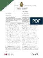 """VCDS Leaked Letter on """"Renewal Governance"""""""