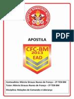 Apostila - Relação Comando e Liderança