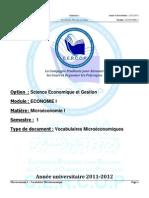 s1 Ecoi Microconomiei Vocabulairesmicroconomiques 120912155618 Phpapp01