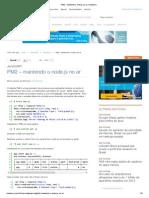PM2 - Mantendo o Nodejs