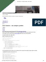 DAO Generico – um exemplo a pedidos » Sobre Código