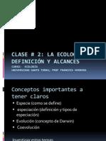 Clase1 bases y definición de ecología