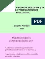 4. Evol Siglo Xix Haeckel Galton Weissman Kroph p b Mendel Johansenn 2011