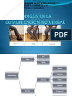 comunicación no verbal - códigos