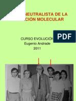 6. Evol Teoria Neutralista de La Evolucion Agosto 2011