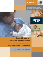 Tamiz Neonatal Lin 2007