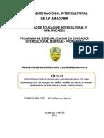 Pronafcap- Elvira Ramirez