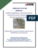 Memoria Descriptiva EV012-2013 CGVN MURO Km. 102+620