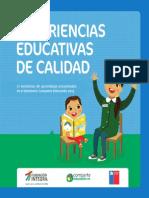 Experiencias Educativas de Calidad 2013