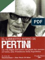 Il libretto rosso di Pertini