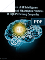 HR Analytics report