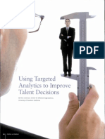 Using Targeted Analytics to Improve Talent Decisions.