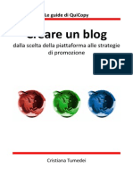 Creare Un Blog