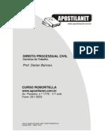 CURSO de Direito Prof. Darlan- Direito Processual Civil