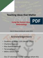 Teaching Ideas That Matter