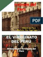 El Virreinato Del Peru