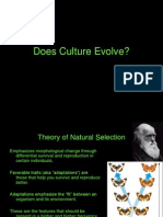 Does Culture Evolve-Anth 111