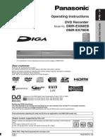 Panasonic DMR-EX78 DMR-EX88 DVD/HDD Recorder