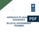 CoE UNDP Quality Assurance