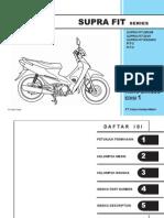 indo honda supra x 125 series part catalog rh scribd com 2013 Honda Fit Sport Manual Interior Honda Fit Manual PDF