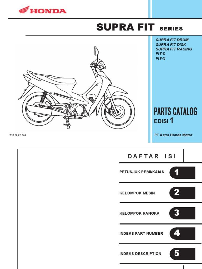 Supra fit parts catalog series ccuart Images