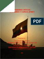 MEMORIA CRÍTICA SEMINARIOS Y CURSOS AFINES CARLOS E GARCIA G