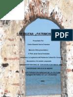 MEMORIA CRÍTICA LA LEGISLACION DE PATRIMONIO HISTÓRICO CARLOS E GARCIA G