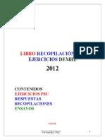 LIBRO RECOPILACIÓN PSU