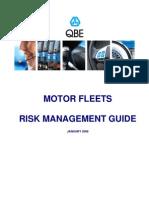 Risk Management for Motor Fleets