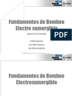 Fundamentos de Bombeo Electrosumergible 1
