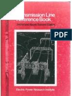 Transmission Line Reference Book - 345 Kv and Above Epri 1982